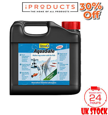 Tetra Aquasafe Water Conditioner, 5 Litre Goldfish Pond Supplies
