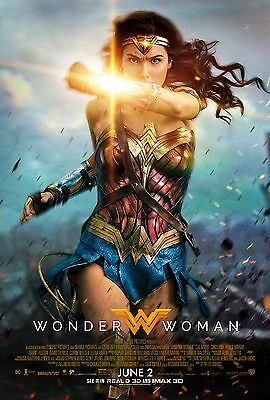 Wonder Woman Poster A4 A3 A2 A1 Cinema Movie Large Format #3