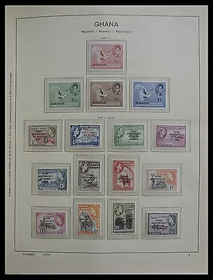 Lot 27341 Collection stamps of Ghana 1957-1990.