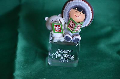 """Hallmark 1980 Frosty Friends  #1 In Frosty Friends Series """"a Cool Yule"""" Excond"""
