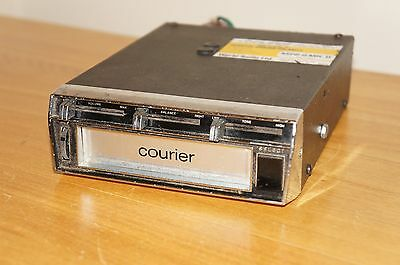 -= Vintage Courier Mini 8 MKII = 8 Track Tape Player Car Stereo Radio made in UK