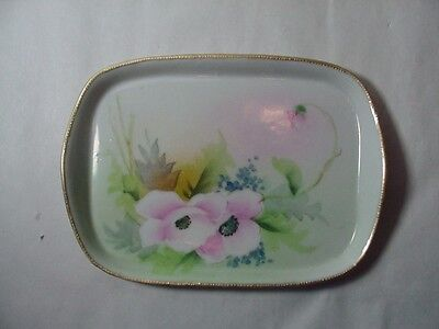 Nippon, Japan -- Hand Painted Pin / Ring / Vanity Tray -- GLORIA - L. W. & Co.