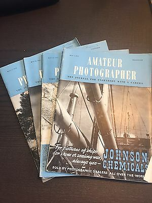 Amateur Photographer Magazine 3 10 24 31 May 1950 - Issues/Journals