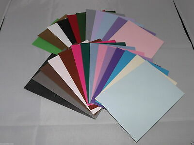20 x A4 SHEETS OF 240GSM CARD STOCK FREE 1ST CLASS POSTAGE *YOU CHOOSE COLOUR*