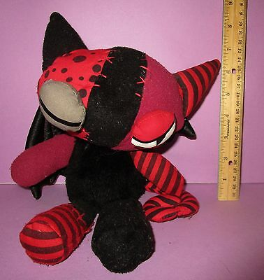Emily the Strange Plush Jinx L'il Strangers Collection Red Kitty 2006 Limited