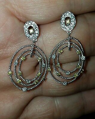 Authentic Charriol 18kt Gold Diamond Earrings