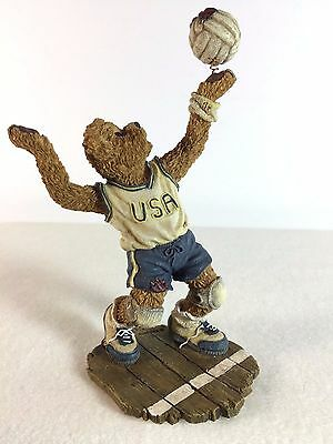 Boyds Bears Pat B. Bruin - On the Line # 228385 - Bearstone USA Soccer Player