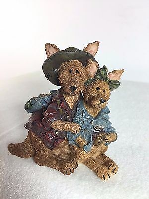 Boyds Bears Joey and Alice Outback - The Trekkers #2432 - Kangaroo