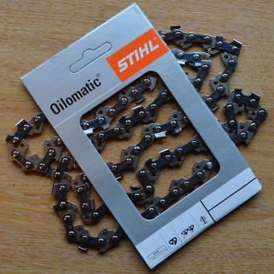 "14"" 35cm Makita Genuine Stihl Chainsaw Chain 3/8"" PMM 1.1mm 52 DL Tracked Post"