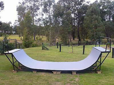 High Quality Full Size Half Pipe Skateboard and Scooter Ramp