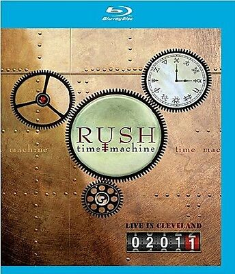 Rush - Time Machine 2011: Live In Cleveland  Blu-Ray New+