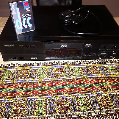 Philips DCC recorder 730 Digital Compact Cassette Recorder + BASF 90 tape sealed