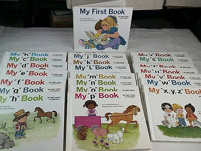 My First Steps To Reading A-Z Books 25 Books Complete
