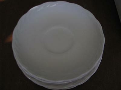 Lot of 6 Franciscan 3 Saucers 3 Bread Plate Interface Pattern