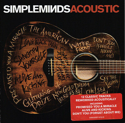 Simple Minds - Acoustic (2016)  CD  NEW/SEALED  SPEEDYPOST
