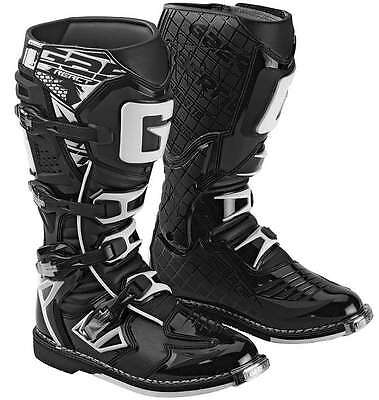 Gaerne G-React Leather Motocross MX Riding Boots - 2016/17 [Black, Size 13]