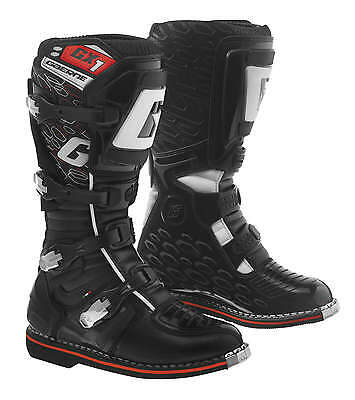 Gaerne GX-1 Leather Motocross MX Riding Boots - 2016/17 [Black, Size 11]