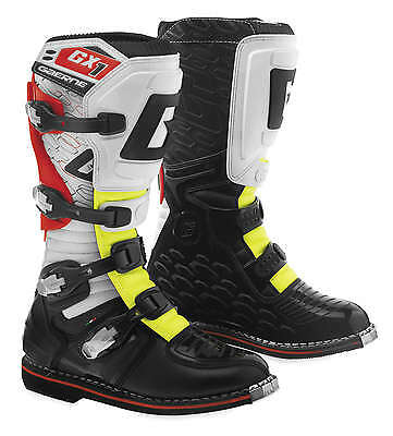 Gaerne GX-1 Leather Motocross MX Riding Boots - 2016/17 [Yellow, Size 5]