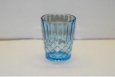 US Glass Aunt Polly Blue Tumbler