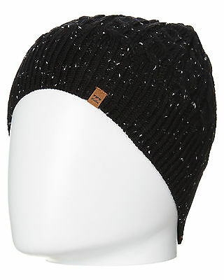 New Billabong Men's Academy Beanie Fitted Acrylic Black