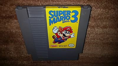Super Mario Bros 3 Brothers Iii Nintendo Nes Nrmt Cond Authentic Game Cartridge