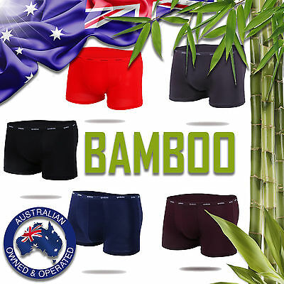 Men's Underwear Bamboo / Modal - Mens Boxer- Breifs - Trunks