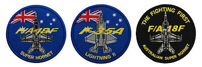 Australian Super Hornet and F-35A - Patch Pack - New