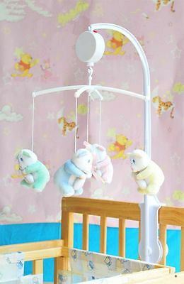 Song Baby Crib New Electric Autorotation Music Box Cradle Baby Toys 12 Melodies