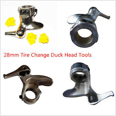 28mm Motorcycle Tire Change Cast Steel Mount Demount Duck Head Protector Tools