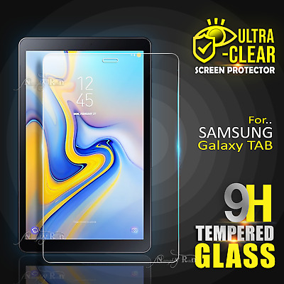 "Samsung Galaxy Tab A A6 S2 S3 S4 7.0"" 8.0"" 10.1"" Tempered Glass Screen Protector"