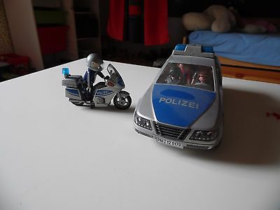 playmobil polizeiauto und motorrad eur 11 50 picclick de. Black Bedroom Furniture Sets. Home Design Ideas