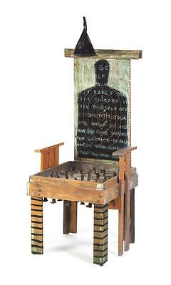 ELECTRIC CHAIR BY WENDY CARR (AMERICAN, 20TH CENTURY) Lot 176