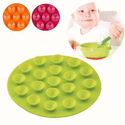 Baby Feeding Placemat Double sided Suction Cups Sucker Mat Tableware Coaster