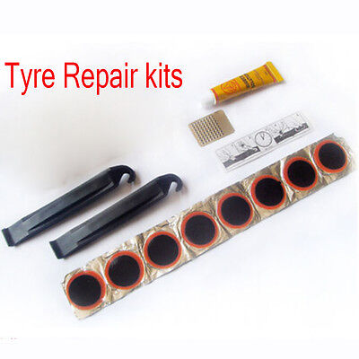 Portable Cycling Bike Bicycle Repair Tire Tyre Tool Sets Kit Rubber Patch Care