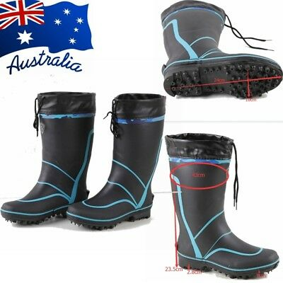 Fishing Boots Shoes Wading Anti-Skid Bottom With Nails Multi-sizes