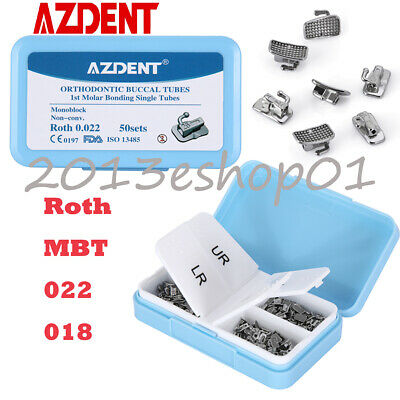 10pcs/Kit Dental Orthodontic Stainless Steel Arch Wires Rectangular Natural Form