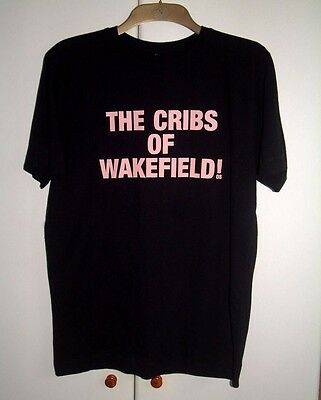 The Cribs Of Wakefield  T-Shirt - Official Tour Merchandise New Rare Size Medium