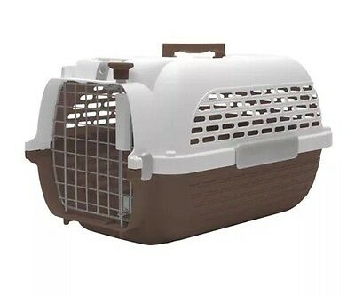 VOYAGEUR DogIt Extra Large Brown and White Pet Carrier Brand New