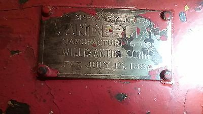 Vanderman Antique Strong Box