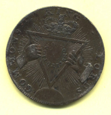 Halfpenny Condor 1795 Middlesex Davidson's SISE Coin
