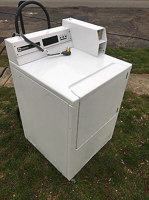 White Maytag MDE16pd Commercial Coin Operated Neptune Electric Dryer Laundromat