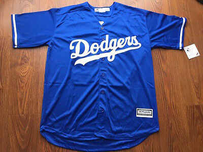 Clayton Kershaw #22 Los Angeles Dodgers Blue/ White MLB Cool Base Jersey (NWT)