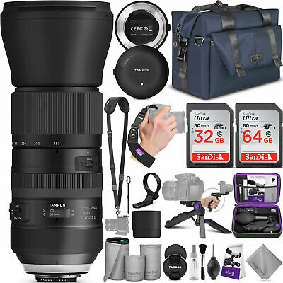 Tamron SP 150-600mm f/5-6.3 Di VC USD G2 Lens for Canon w/ Tap In Console Bundle
