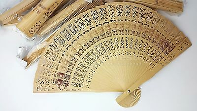 84 pcs Wedding Wooden Fan Quinceanera Hand Fan Abanico de Madera Boda