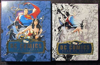 2010 DC COMICS Year by Year by Daniel Wallace HC/SC NM/VF- DK Publishing
