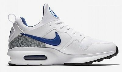 New NIKE Air Max Prime Men's Sneakers white/blue all sizes