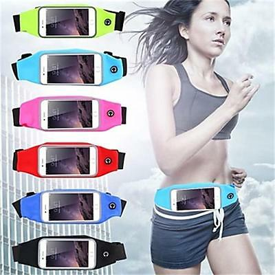 Sports Running Jogging GYM Waist Band Belt Holder Pouch Case For iPhone 6 7 Plus