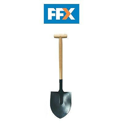 Faithfull FAIOSR2T Open Socket No.2 Round Mouth Shovel
