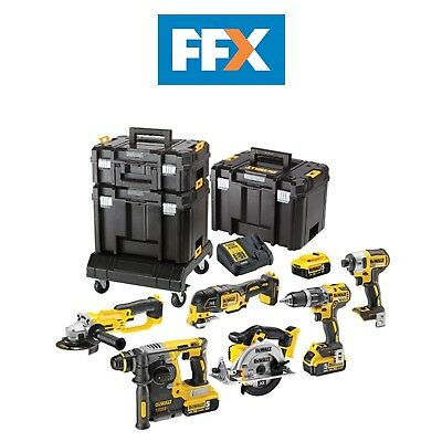 DeWalt DCK654P3T-GB XR Compact TSTAK Kit 6pc 18v 3 x 5.0Ah Li-Ion