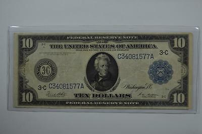 $10.00 Federal Reserve Note. Lot 125